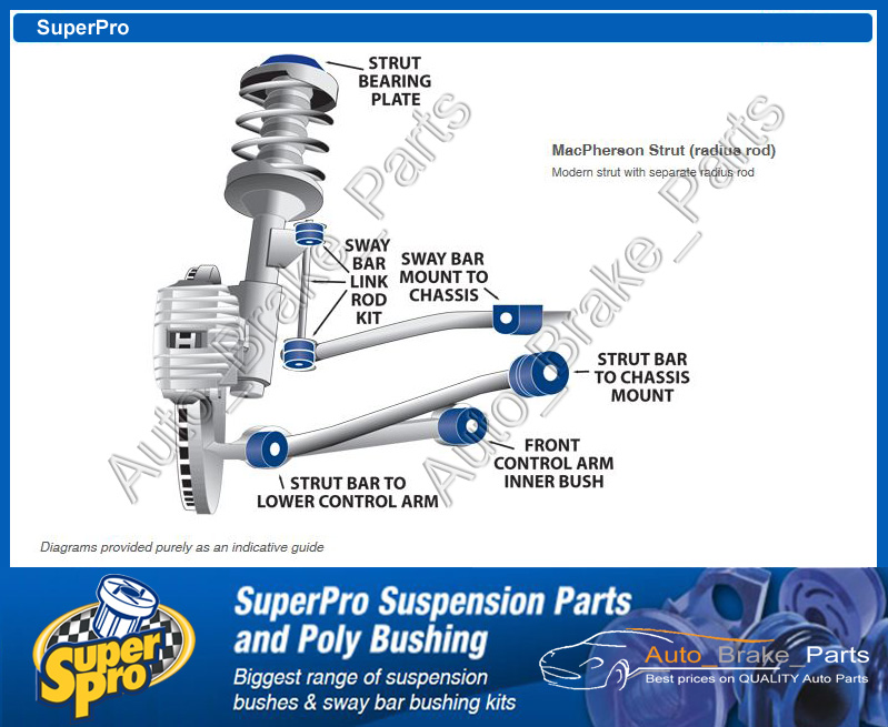 Superpro Suspension Parts And Poly Bushings For Holden Manual Guide